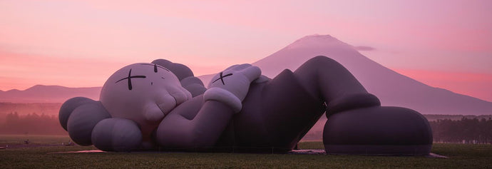 New camping experience by KAWS:HOLIDAY JAPAN
