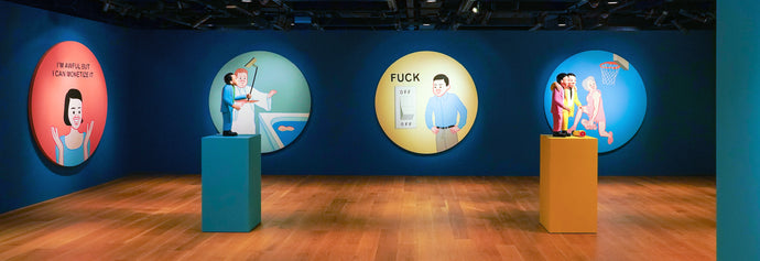 "JOAN CORNELLÀ'S ""MY life is Pointless"" Exhibition In Collaboration with Sotheby's"