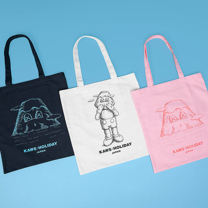 KAWS:HOLIDAY JAPAN Tote Bag