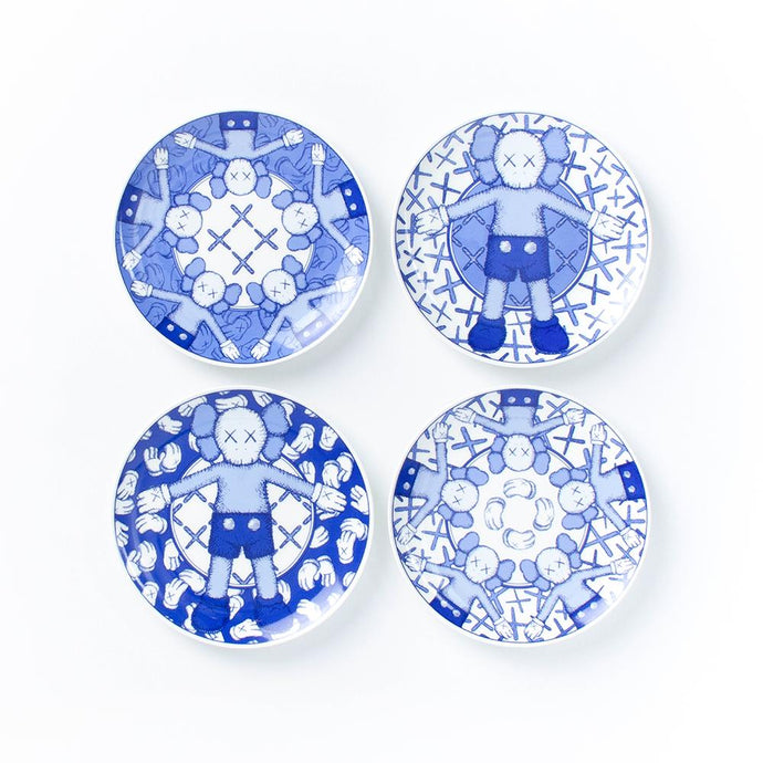 KAWS:HOLIDAY TAIPEI Ceramic Plate Set (Set of 4)