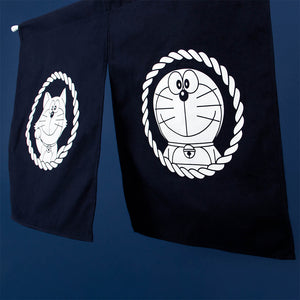 Doraemon & Lucky Cat Curtain
