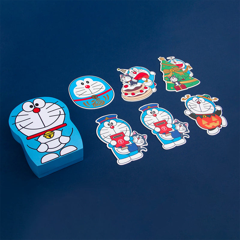 Doraemon Postcard Box Set (with Pin)