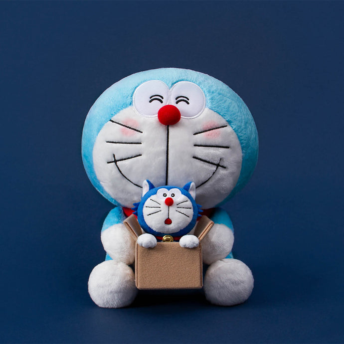 Doraemon & Lucky Cat Plush