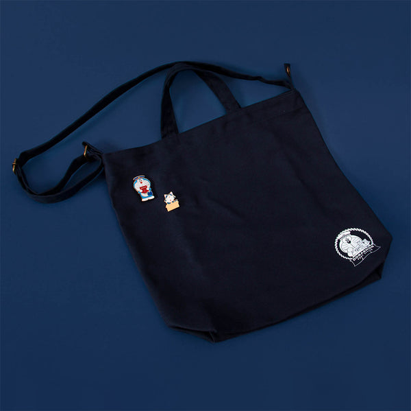 Doraemon Post Office Tote bag (2 Pins Included)