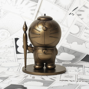 Comic Artist Doraemon bronze sculpture