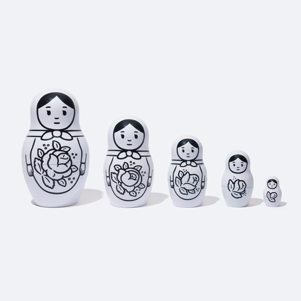 MATRYOSHKA by Noritake (White Color)