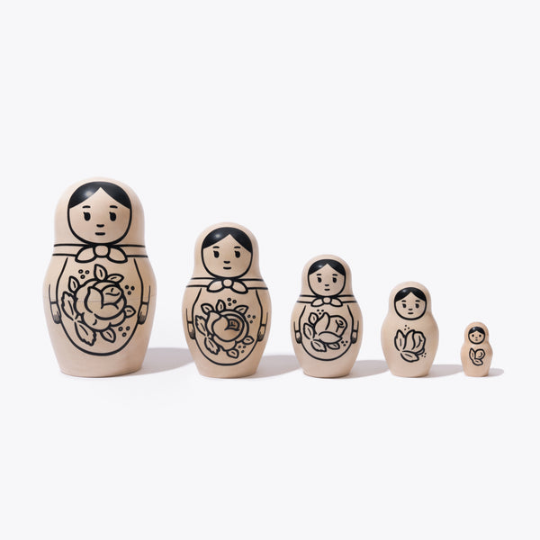 MATRYOSHKA by Noritake (Wood Color)
