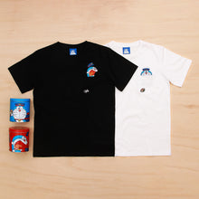 Doraemon Post office Pocket Tee (Shocked by mouse)