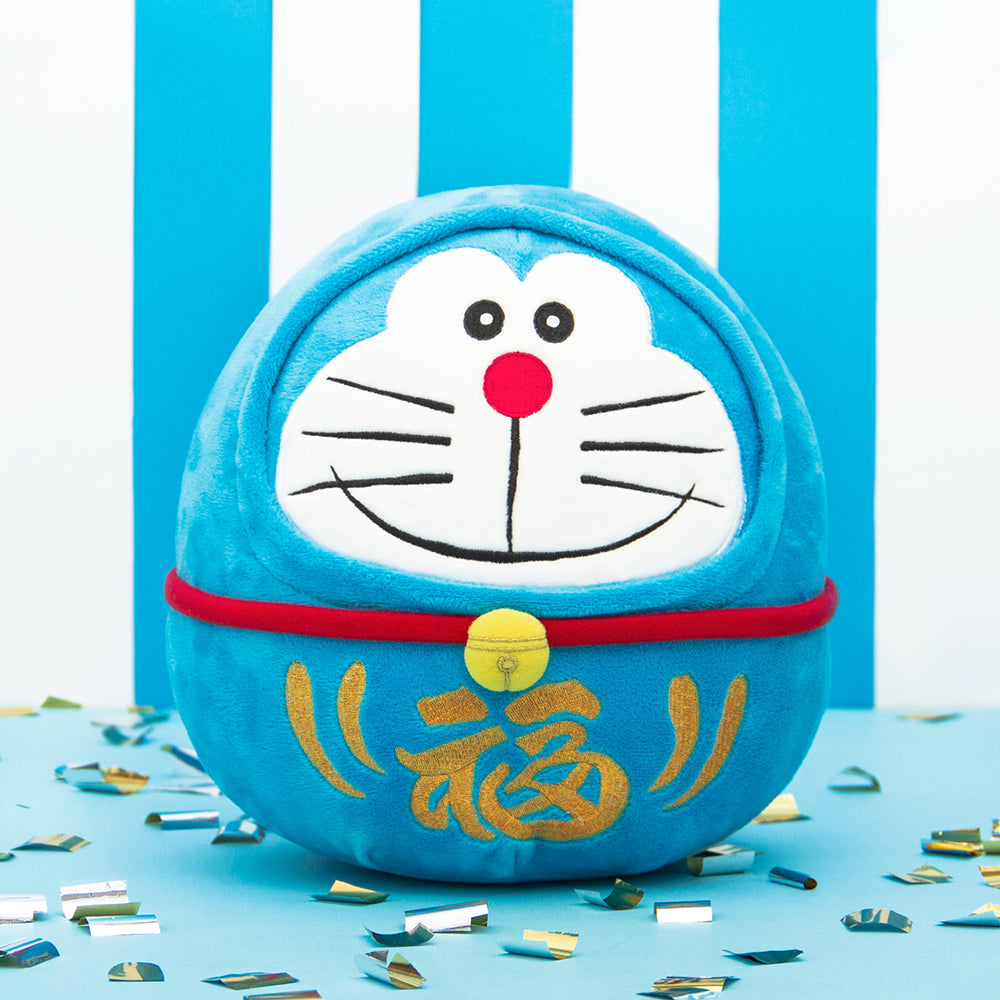 Doraemon Daruma Plush (Big)