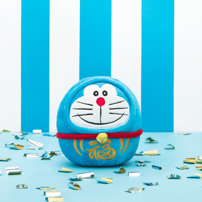 Doraemon Daruma Plush (Small)