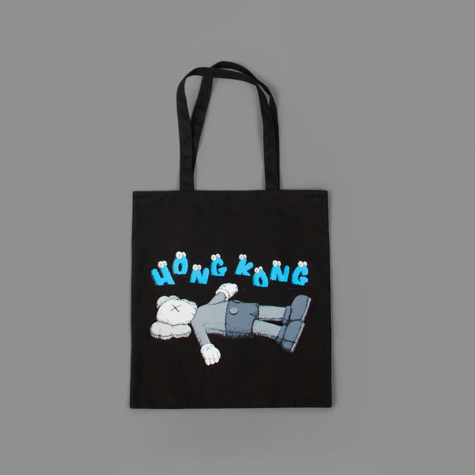 KAWS:HOLIDAY HONG KONG Tote Bag