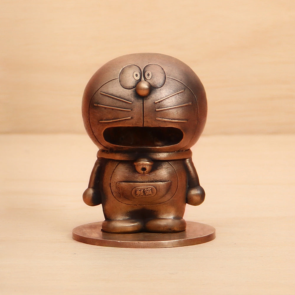 Doraemon Postman bronze sculpture