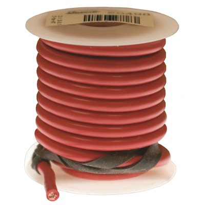 Auveco No. 20494 Primary Wire 12 Gauge Red 15 FT, Quantity - 15FT