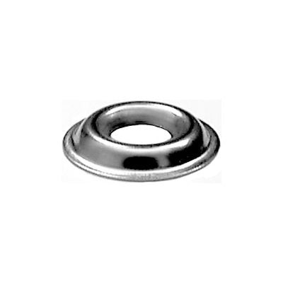 Auveco No. 3472 #10 Flanged Countersunk Washer Stainless Steel, Quantity - 100