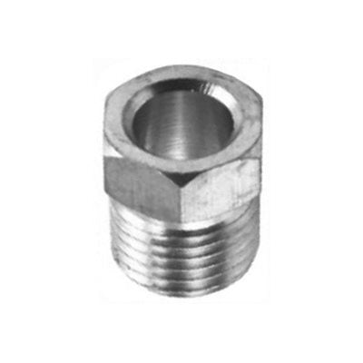 "Auveco No. 37 Steel Inverted Nut 1/4"" Tube Size, Quantity - 10"
