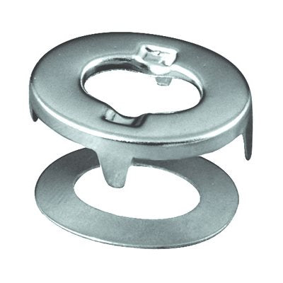 Auveco No. 7409 Number 150 Eyelet & No. 29 Washer Nickel On Washer/Grommet, Quantity - 100