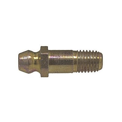 "Auveco No. 9259 Grease Fitting 1/4""-28 X-Long Straight 1680, Quantity - 25"