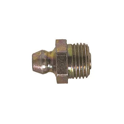 "Auveco No. 9262 Grease Fitting 1/8"" NPT Straight 1610, Quantity - 50"