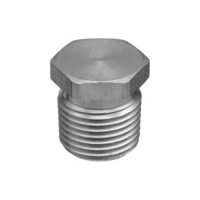 "Auveco No. 9279 1/4""-18 Hex Head Pipe Plug, Quantity - 25"