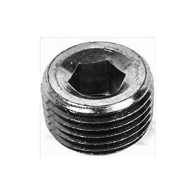 "Auveco No. 9284 3/8""-18 Hex Socket Head Pipe Plug, Quantity - 25"