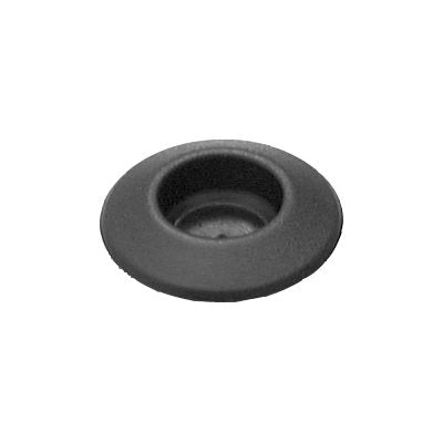 Auveco No. 18799 Plastic Plug Button 3 Hole Size Black, Quantity - 10