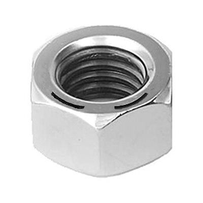 "Auveco No. 9309 3/8""-24 Grade 8 Hex Nut Zinc High Alloy, Quantity - 100"