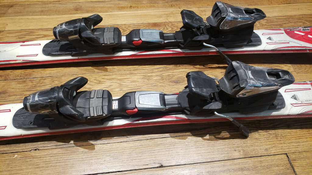 K2 Amp Strike adult skis 124cm Marker bindings