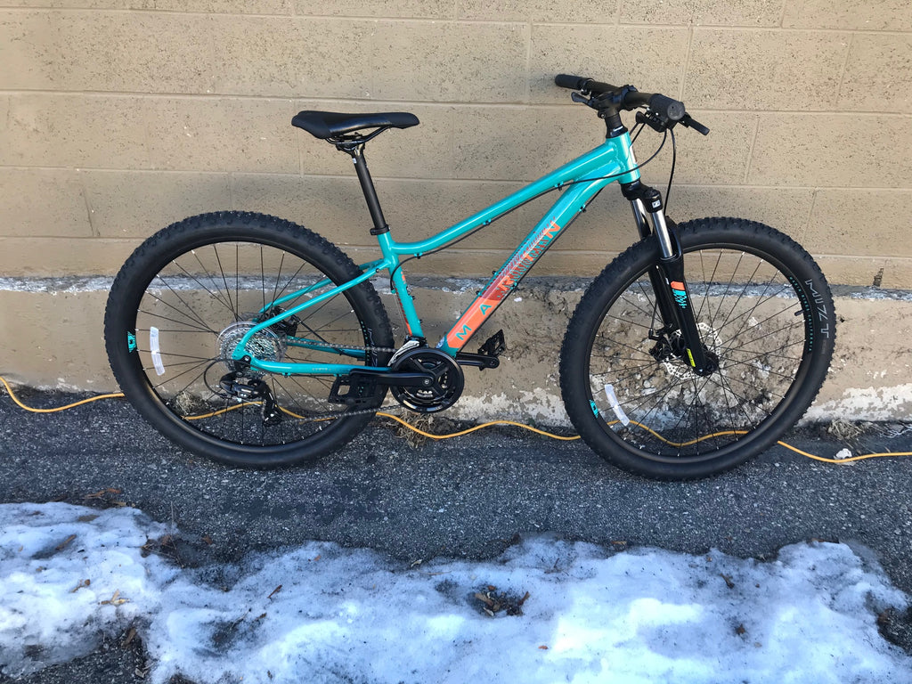Marin Wildcat Trail 1 hardtail mountain bike small teal