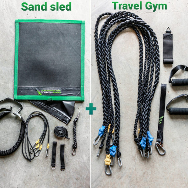 Package 2 - Sand sled & Travel gym