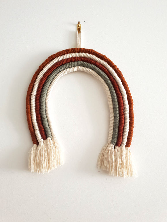 Rainbow Macrame Home Decor- Wall Hanging Accessories