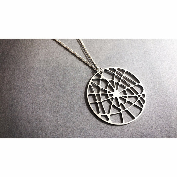 Universe Circle - Stainless Steel Necklace