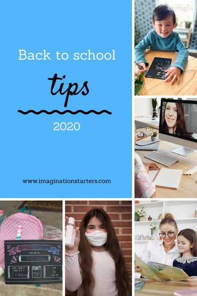Virtual, Home or In person?  Back to school tips for all.