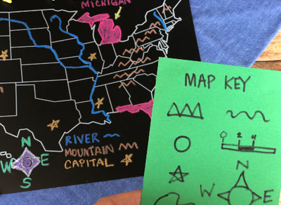 {FREE DISCUSSION GUIDE} Map Skills for Kids