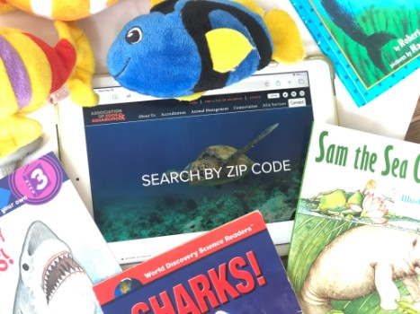 AZA Search by zipcode for Aquariums near you