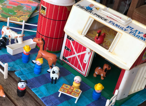 Farm Animals Vintage Fisher Price Farm