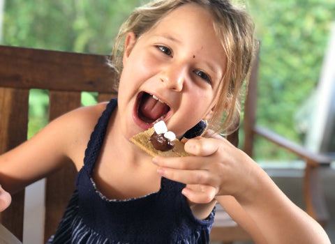 Girl Eat S'Mores - Forest Snack Idea
