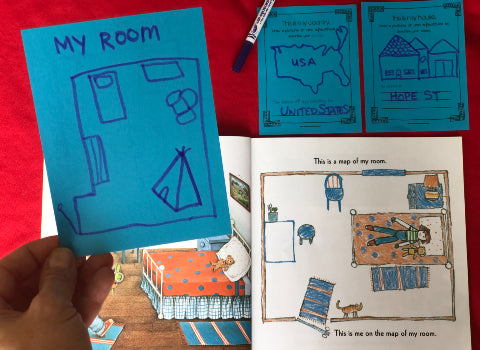 Me On The Map FREE Activity Printable