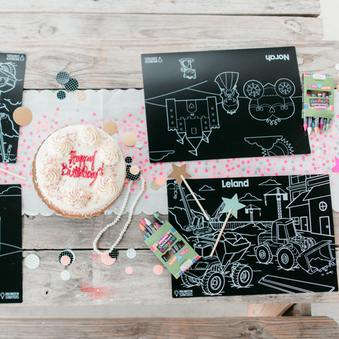 Best Birthday Party Set- Each printed with the child's name!