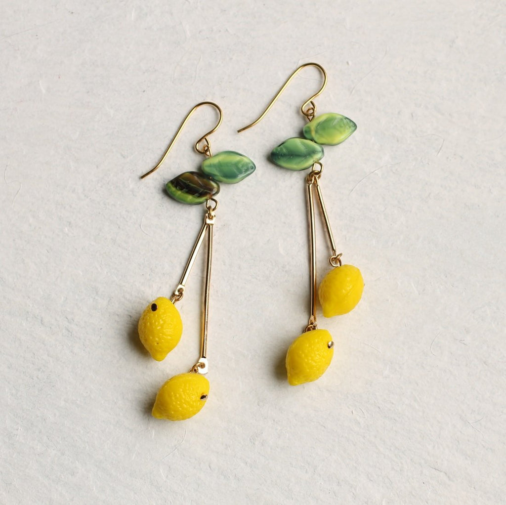 Lemon Tree Earrings - Earrings