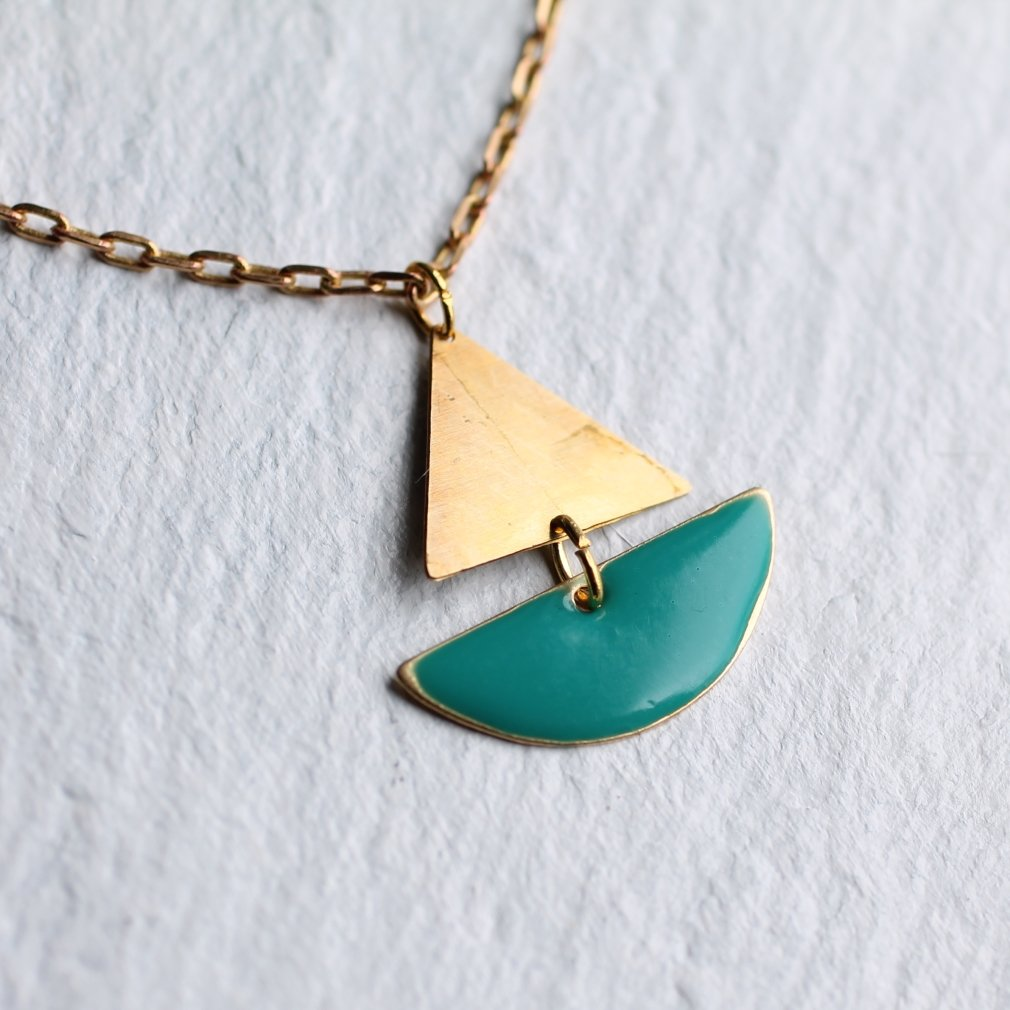 Sailing Boat Necklace