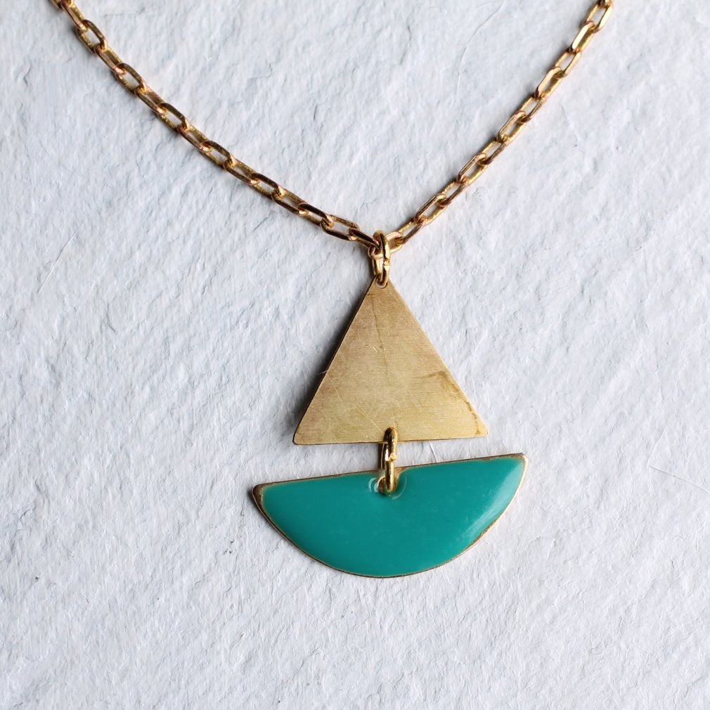 Sailing Boat Necklace - Necklaces