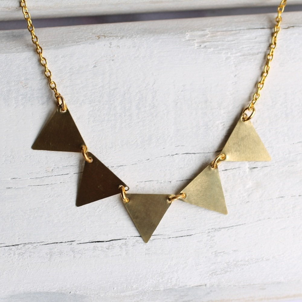 Bunting Necklace - Necklaces
