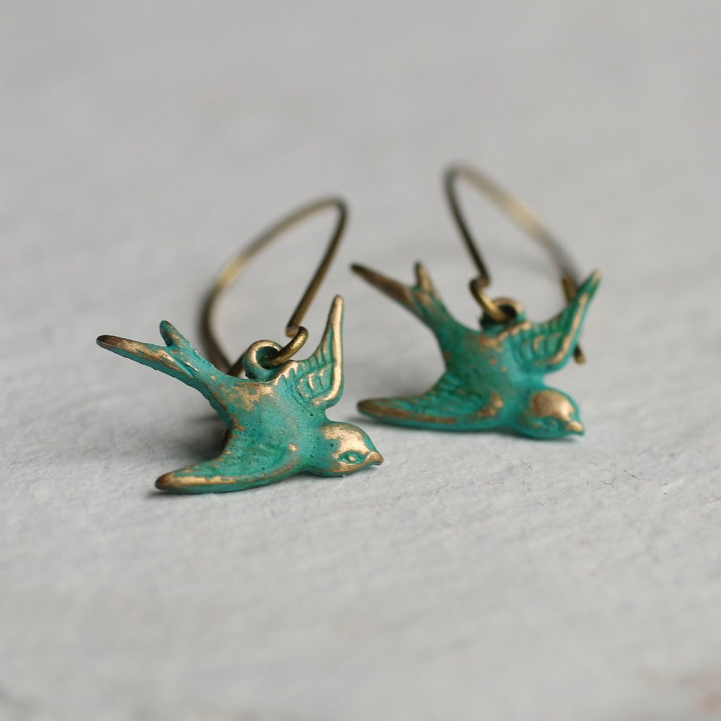 Bird Earrings - Earrings