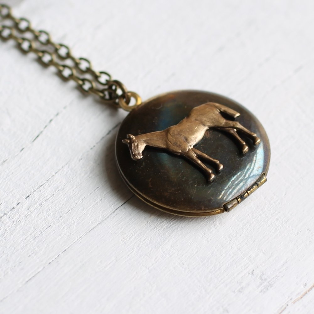 Horse Locket - Necklaces