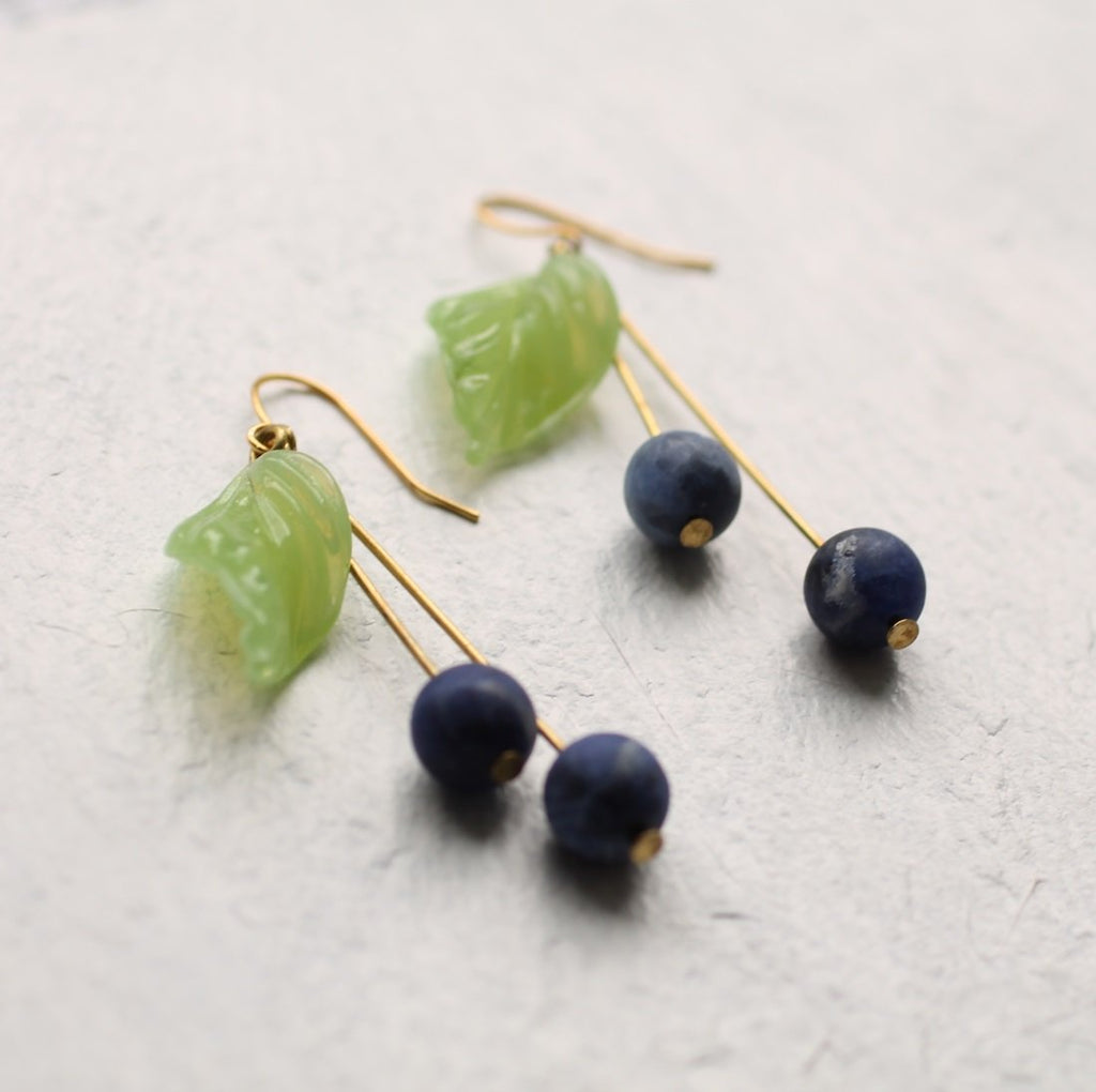 Blueberry Earrings - Earrings