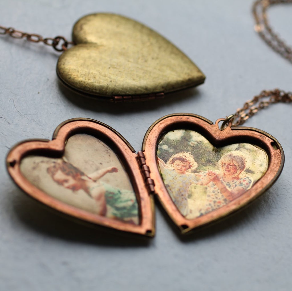 Photo Album Heart Locket