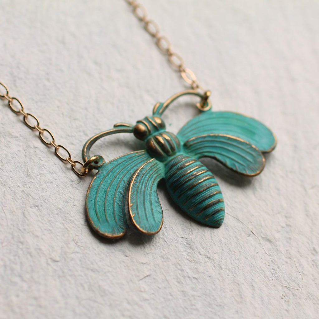 Bee Necklace - Necklaces