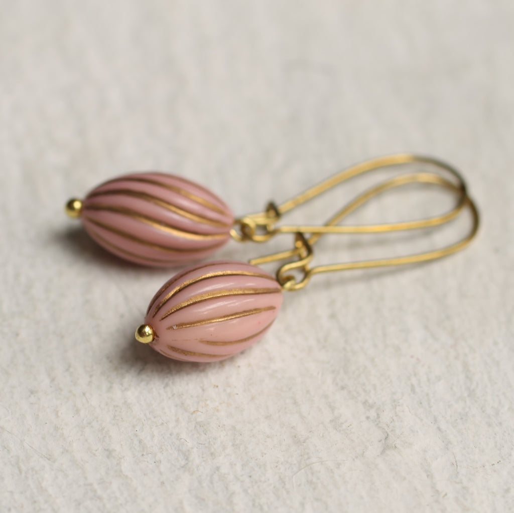 Pink Melon Earrings - Earrings