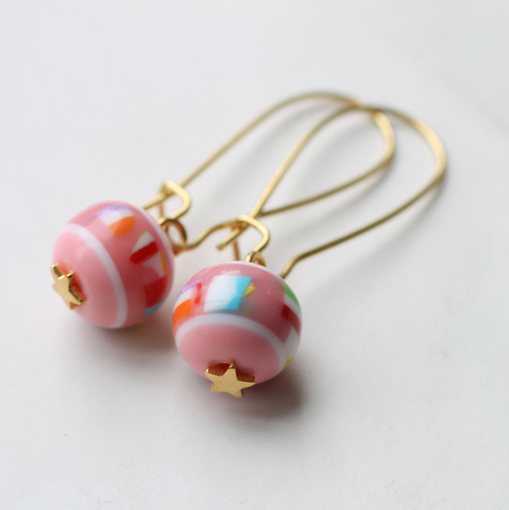 Eighties Toy Box Earrings - Earrings