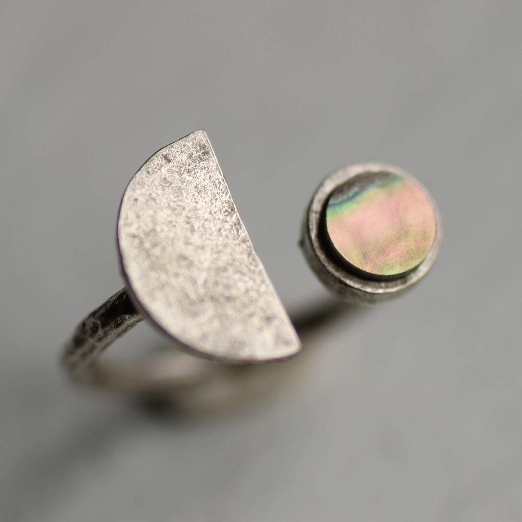 Silver Moon Ring - Rings